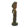 Northwest Coast Miniature Cedar Totem  < 1', carvings, northwest, totems