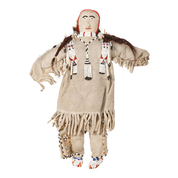 American Indian  beadwork, dolls, sioux  Highly Decorated Sioux Doll