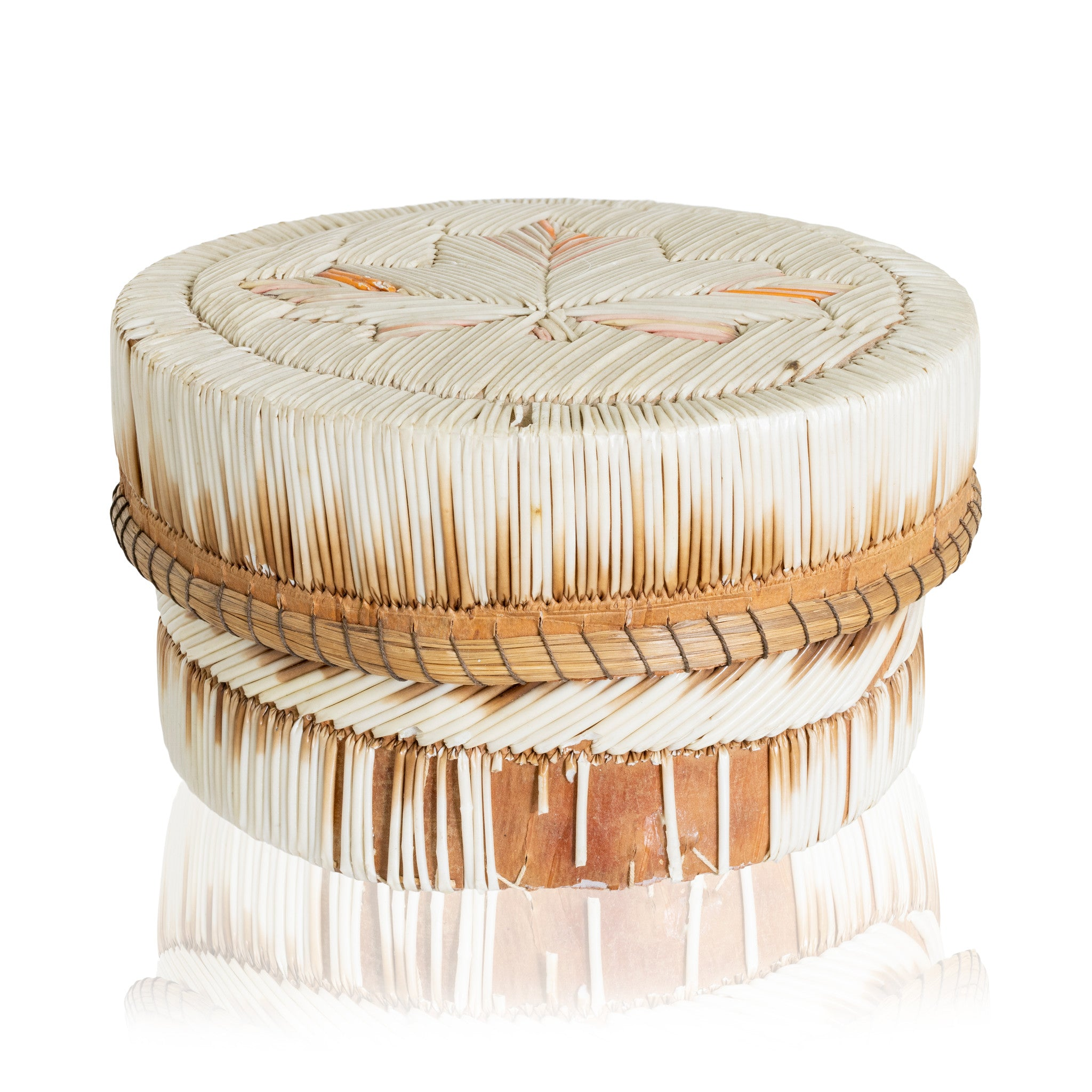 Quilled Birch Bark Box birch bark boxes, chippewa, quilled boxes, quills