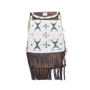 American Indian  arapaho, plains, pouches, ute  Dispatch Pouch