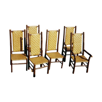 Lodge Furnishings  dining chairs, old hickory  Old Hickory