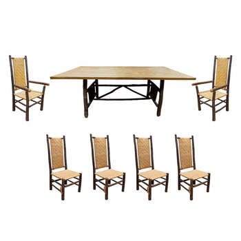 Lodge Furnishings  old hickory, sale item  Old Hickory Dining Set