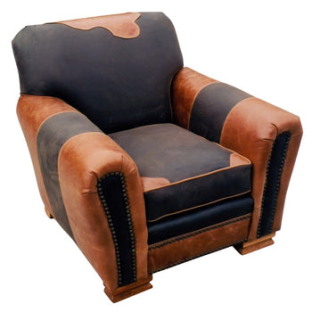 Lodge Furnishings  chairs, kennedy collection, leather  Kennedy Collection Leather Lodge Chair