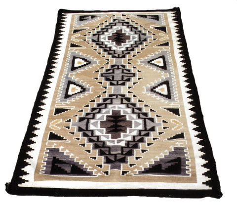 Two Gray Hills Runner navajo, runners, two grey hills, weavings