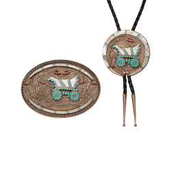 Navajo Bolo and Buckle Set