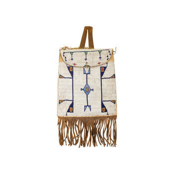 American Indian  plains, pouches  Cheyenne Dispatch Pouch