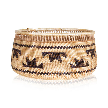 American Indian  baskets, yurok  Yurok Basket