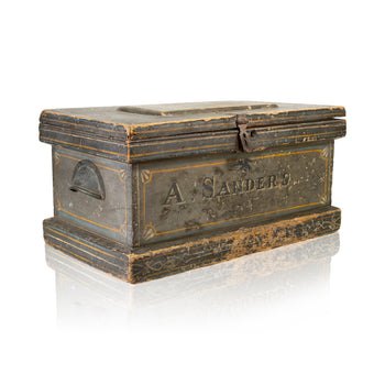 Cowboy and Western  cavalry, chests, civil war, cowboy and western: other: other, trunks  Civil War Officer's Trunk