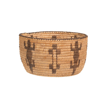 American Indian  apache, baskets, bowls, figurative, sale item  Apache Basketry Bowl