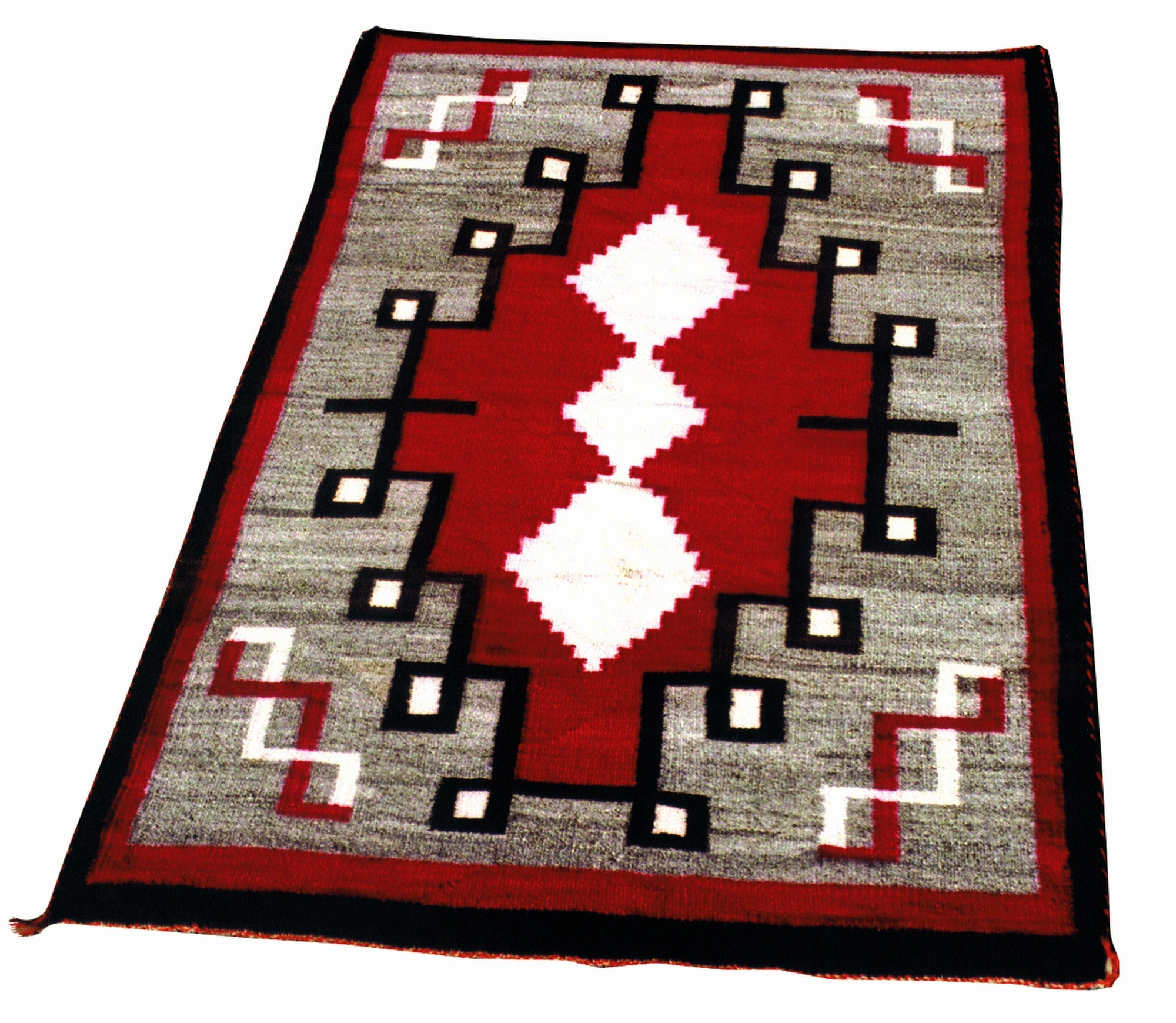 Navajo Crystal 4' to 6', crystals, j.b. moore, navajo, rugs, weavings