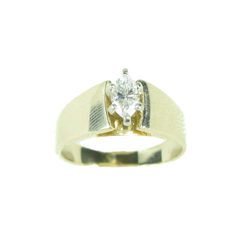 Jewelry  diamond, estate, gold, ring  Diamond Ring