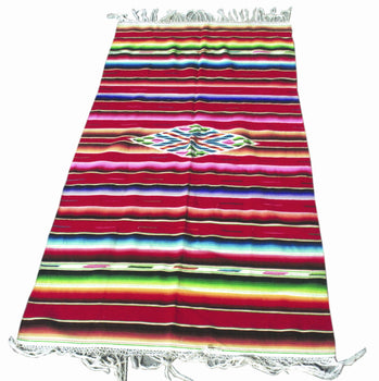 American Indian  6' to 8', mexican, serapes, southwestern, weavings  Mexican Serape