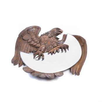 Special Collections  eagle, mirror, swiss carvings  Eagle Mirror