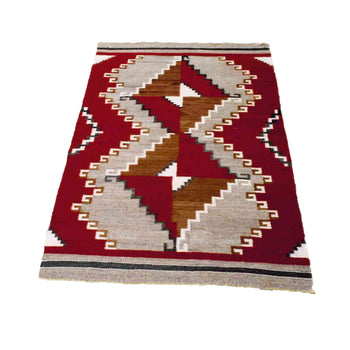 American Indian  4' to 6', ganados, navajo, rugs, weavings  Navajo Ganado