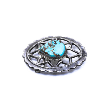 Jewelry  buckle, carlan mine, navajo, old pawn, sandcast, southwest, turquoise  Navajo Sandcast Belt Buckle