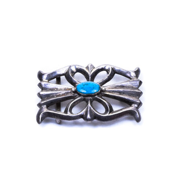 Jewelry  buckle, cerrillos, jewelry: buckle: southwest, navajo, sandcast, southwest, turquoise  Navajo Sandcast Belt Buckle
