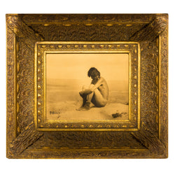 """Last of His People"" Gold Tone Photograph"