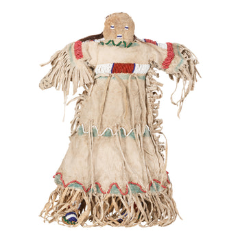 American Indian  beadwork, dolls, sioux  Large Sioux Doll