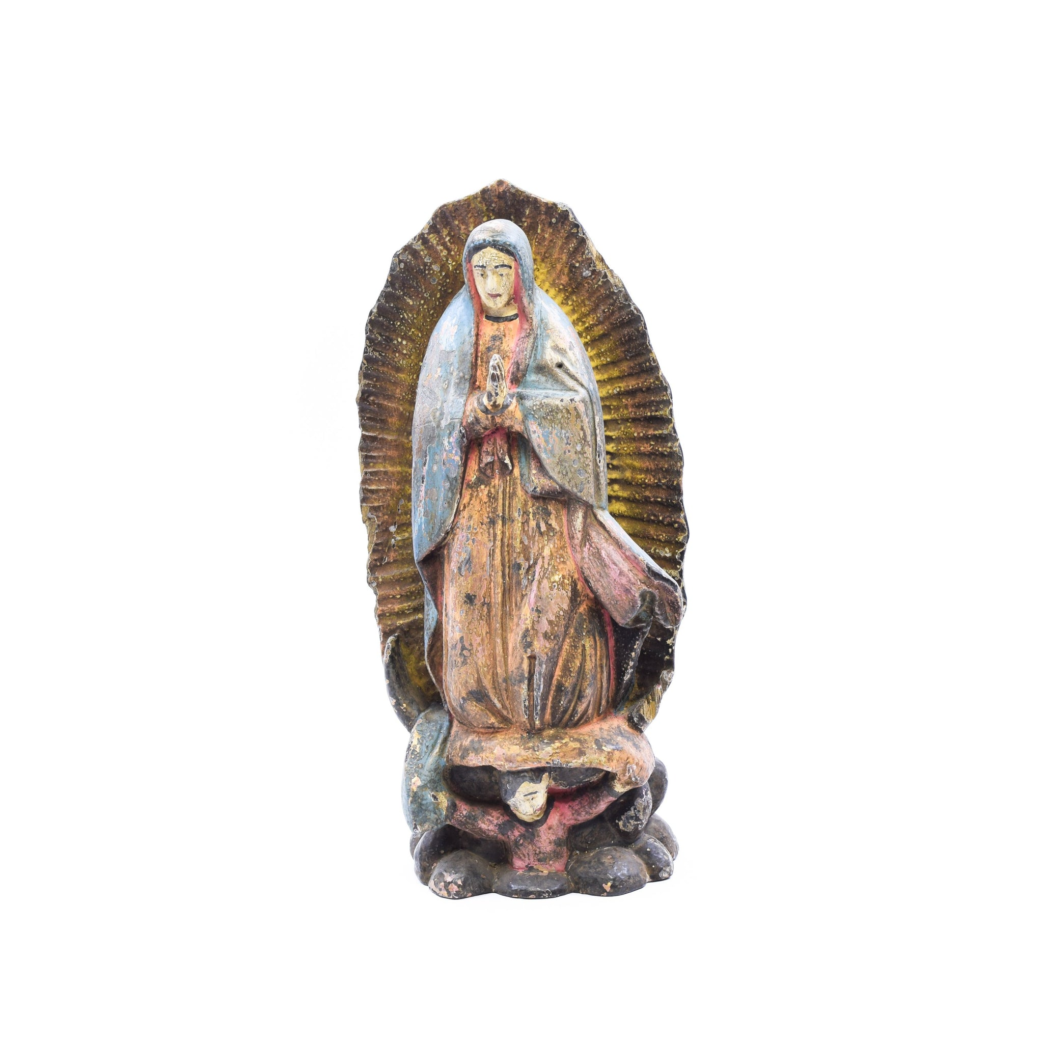 Lady of Guadalupe carvings, lady of guadalupe, religious
