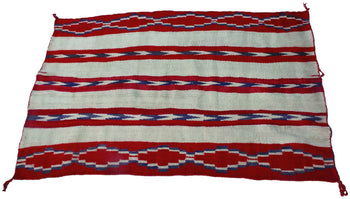 American Indian  4' to 6', blankets, navajo, wearing blankets, weavings  Child's Blanket