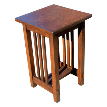 Lodge Furnishings  arts and craft, lamp table, tables  Arts and Crafts Lamp Table