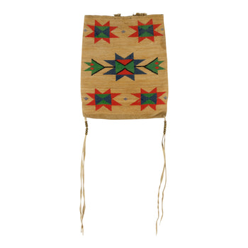 American Indian  corn husks, nez perce  Nez Perce Corn Husk with Arrow and Star Design