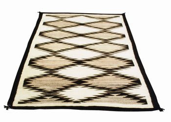 American Indian  6' to 8', naturals, navajo, weavings  Natural Navajo