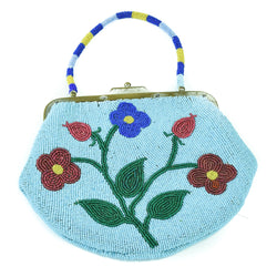 Pictorial Purse With Outside Pocket