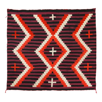 American Indian  1' to 4', child's blankets, germantowns, navajo, weavings  Germantown Child's Blanket