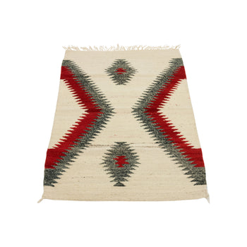 American Indian  1' to 4', ganados, navajo, throws, weavings  Navajo Ganado Throw