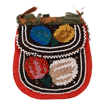 American Indian  beadwork, iroquois, pouches, whimsies  Whimsy Pouch