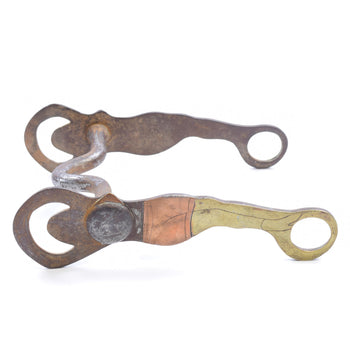 Cowboy and Western  bits, deer lodge prison, spurs & bridles  Lady Leg Prison Bit