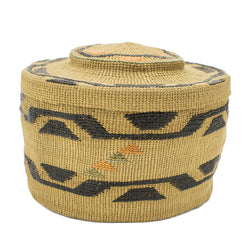 Tlingit Rattle Top Basket