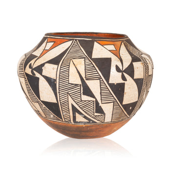 American Indian  acoma, jars, pottery  Acoma Jar
