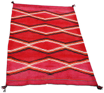 American Indian  4' to 6', blankets, boy scouts, child's blankets, navajo, transitionals, weavings  Transitional Child's Blanket