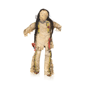 American Indian  dolls, plains, sioux  Rabbit Creek Man Doll