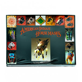 Lodge Furnishings  tabletop books  American Indian Horse Masks