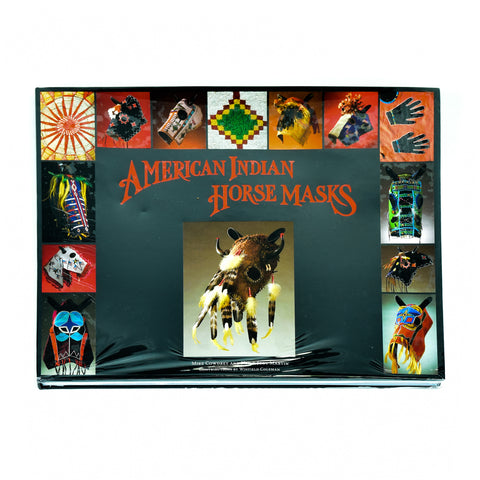 American Indian Horse Masks tabletop books