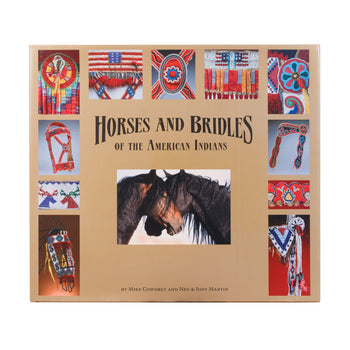 Lodge Furnishings  tabletop books  Horses and Bridles of the American Indians