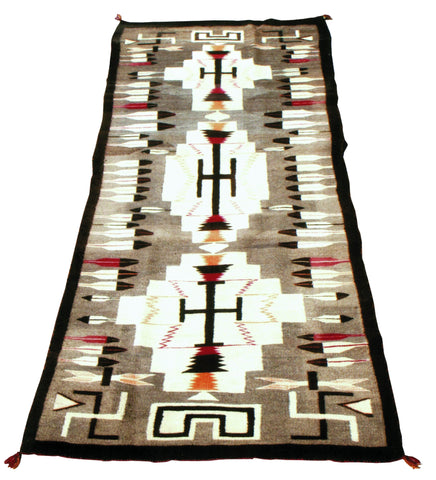 Eagle Feather Runner navajo, pictorials, runners, weavings, whirling logs