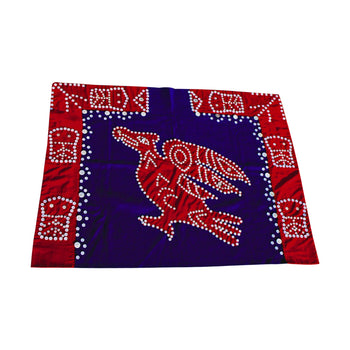 American Indian  american indian other, american indian: weaving: other, blankets, child's, northwest coast, thunderbird  Northwest Coast Button Blanket