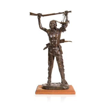 Fine Art  caa, cowboy artists of america, fine art: bronze: limited, limited bronzes, robert scriver, war prize