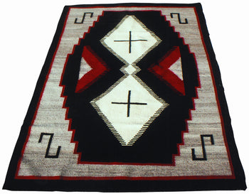 American Indian  6' to 8', ganados, navajo, weavings  Navajo Ganado