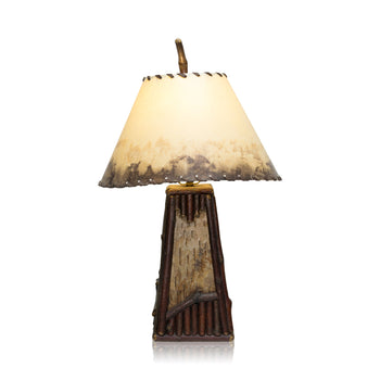 Lodge Furnishings  ciscos, lighting, table lamps  Cisco's Riverfront Lamp