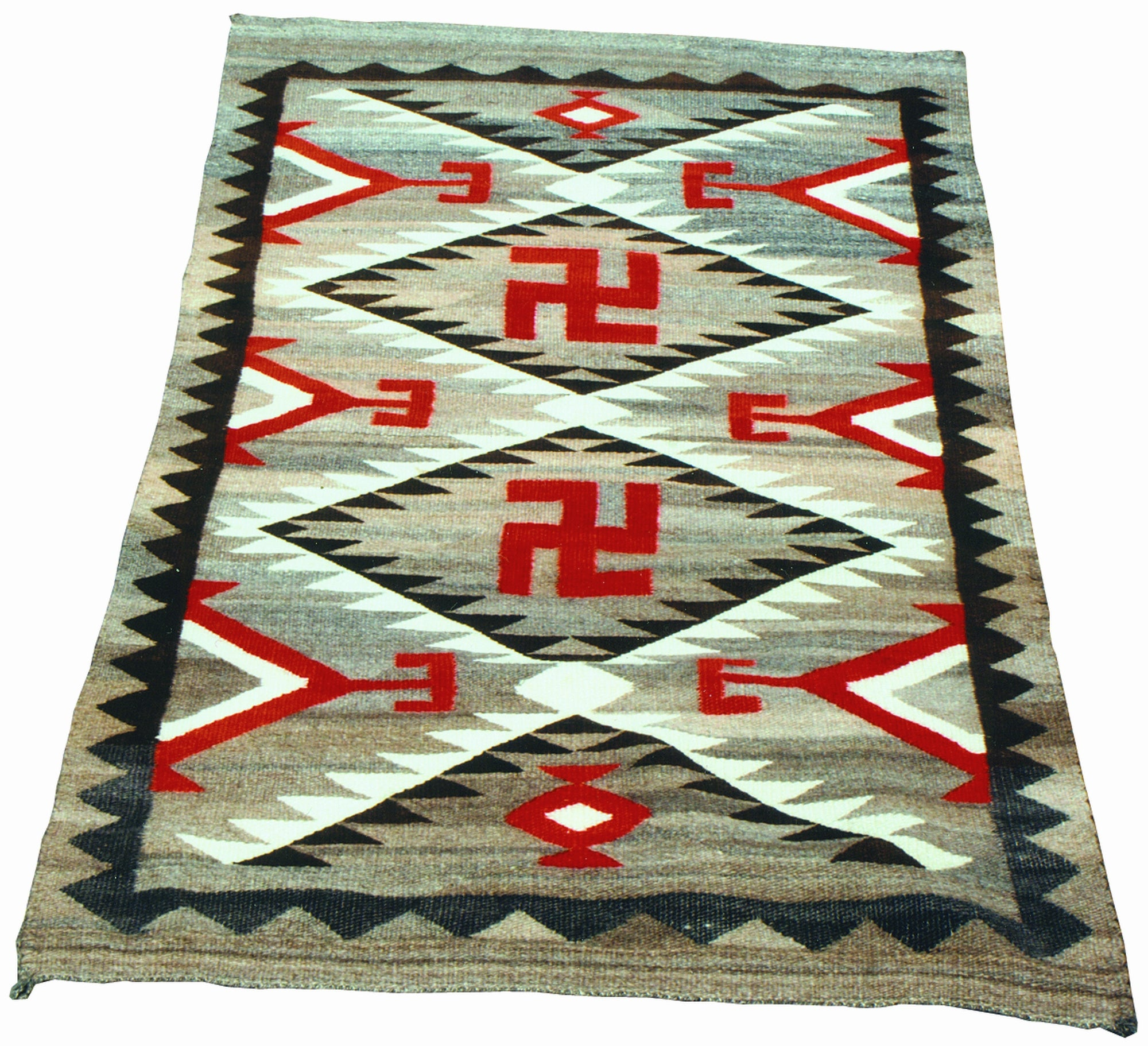 Navajo Ganado Pictorial 4' to 6', ganados, navajo, pictorials, weavings