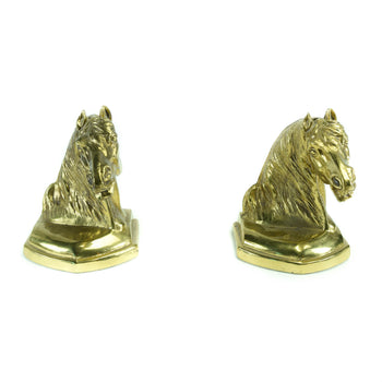 Lodge Furnishings  bookends  Horse Head Bookends
