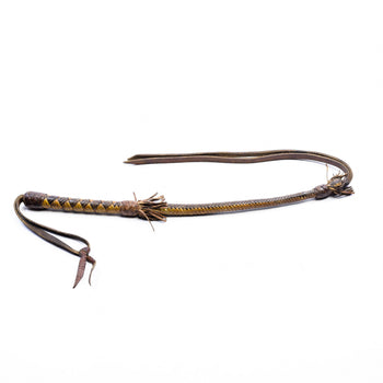 Cowboy and Western  quirts  Braided Leather Quirt