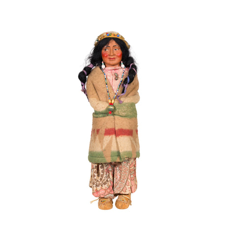 Large Female Skookum dolls, skookums