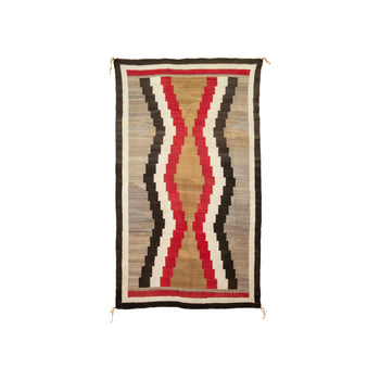 American Indian  4' to 6', klagetoh, navajo, weavings  Navajo Klagetoh