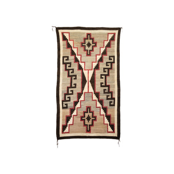 American Indian  4' to 6', ganado, navajo, weavings  Navajo Ganado Weaving